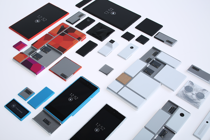 "Motorola Announces ""Project Ara,"" a modular phone hardware platform"